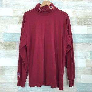 NFL Redskins Turtleneck Sweater Red Starter Pro